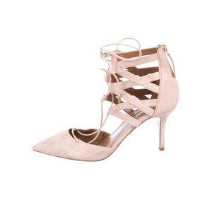 Aquazzura Shoes - Aquazzura   Pink Suede Pumps